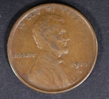 1915-S LINCOLN CENT XF