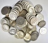 $10 FACE VALUE 90% SILVER DIMES- MIXED