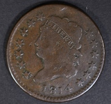 1814 LARGE CENT GOOD