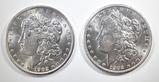 2 1902-O MORGAN DOLLARS CH BU
