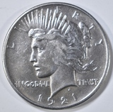 1921 PEACE DOLLAR  AU/BU