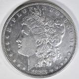 1883-S MORGAN DOLLAR  AU