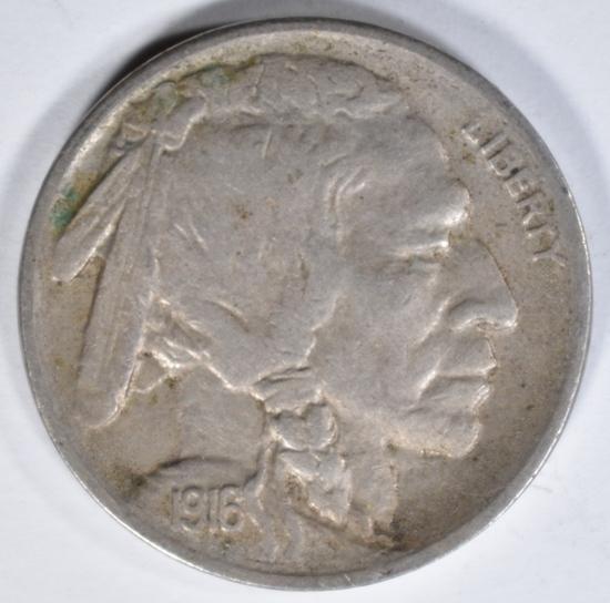 1916-S BUFFALO NICKEL XF