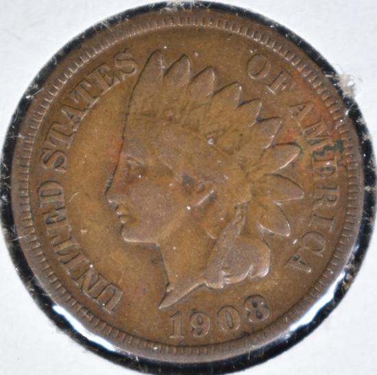 1908-S INDIAN CENT FINE