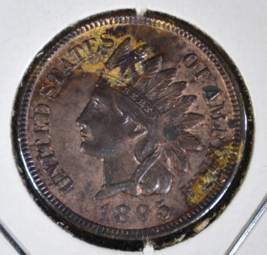 1895 INDIAN CENT BU RB