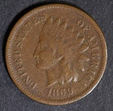 1869 INDIAN HEAD CENT  FINE