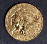 1928 $2.5 GOLD INDIAN  CH/GEM BU