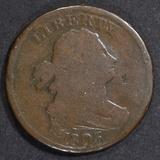 1803 HALF CENT  VG