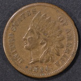 1864-L INDIAN HEAD CENT  XF/AU  ROTATED DIE