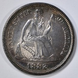 1882 SEATED LIBERTY DIME  GEM ORIG UNC