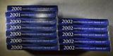 5-2000, 2-2001 & 5-2002 U.S. PROOF SETS