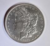 1878 7TF MORGAN DOLLAR  CH AU