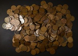 500-MIXED CIRC LINCOLN WHEAT CENTS