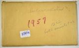 PARTIAL 1957 MINT SET