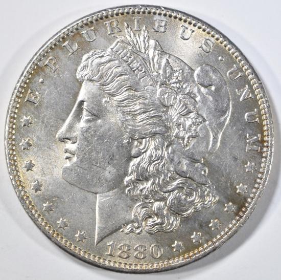 1880-O MORGAN DOLLAR GEM BU