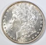 1891-CC MORGAN DOLLAR  GEM BU+
