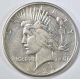 1921 PEACE DOLLAR  CH AU  KEY COIN