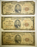 3-1929 $5.00 FEDERAL RESERVE BANK OF CHIGAO NOTES