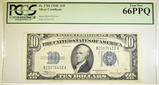 1934-C $10 SILVER CERTIFICATE PCGS 66 PPQ