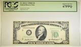 1950 B $10.00 FRN PCGS 67 PPQ
