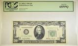1950 $20.00 FRN PCGS 65 PPQ