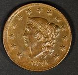 1826 LARGE CENT AU/BU