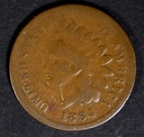 1864 L INDIAN HEAD CENT G/VG