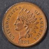 1881 INDIAN HEAD CENT GEM BU BN