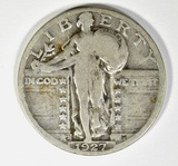 1927-S STANDING LIBERTY QUARTER FINE