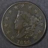 1826 LARGE CENT  XF/AU