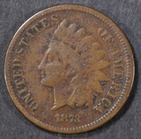 1873 INDIAN HEAD CENT  FINE