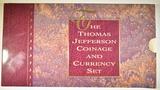 1993 U.S. MINT JEFFERSON COIN & CHRONICLES SET