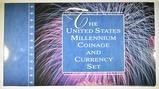2000 U.S. MINT MILLENNIUM COINAGE & CURRENCY SET