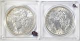 1889 & 1900 BU MORGAN DOLLARS