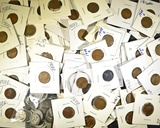 MIXED LOT OF INDIAN & LINCOLN WHEAT CENTS