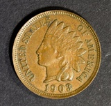 1903 INDIAN HEAD CENT CH BU BN
