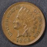 1906 INDIAN HEAD CENT CH BU BN