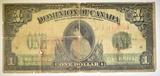 1917 $1 DOMINION OF CANADA