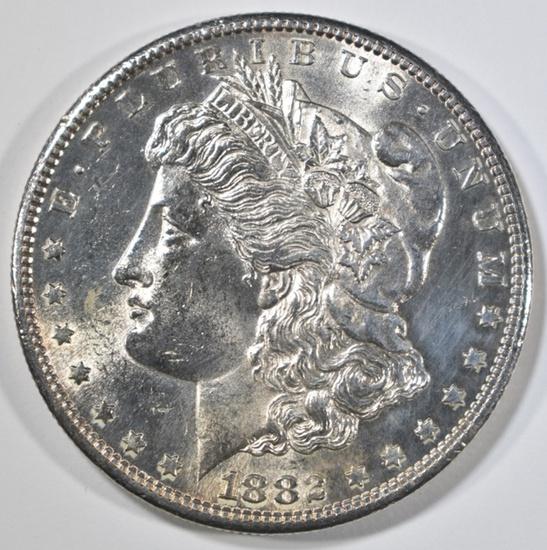 1882-S MORGAN DOLLAR BU