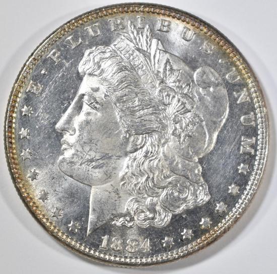 1884 MORGAN DOLLAR CH BU PROOF LIKE