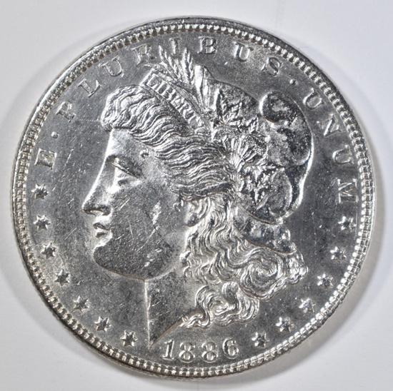 1886 MORGAN DOLLAR BU