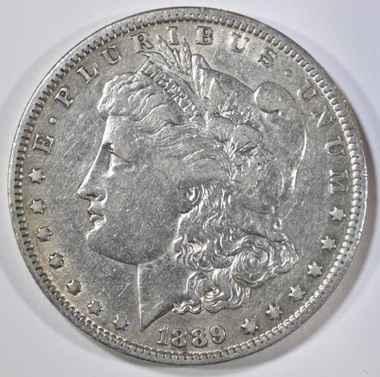 1889-O MORGAN DOLLAR XF