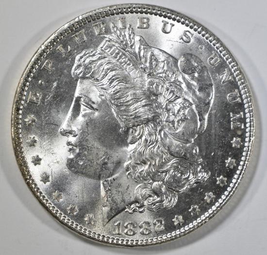 1882 MORGAN DOLLAR CH/GEM BU