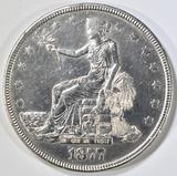 1877 TRADE DOLLAR AU/BU