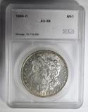 1886-O MORGAN DOLLAR  SEGS AU/BU