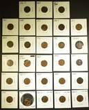 LOT OF 28 MIXED CENTS