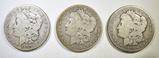 (2) 1879 & 1880 MORGAN DOLLARS