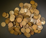 250-MIXED DATE LINCOLN CENTS FROM THE TEENS