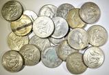 20-CIRC 40% SILVER KENNEDY HALF DOLLARS