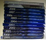 1999-2010 U.S. QUARTER PROOF SETS